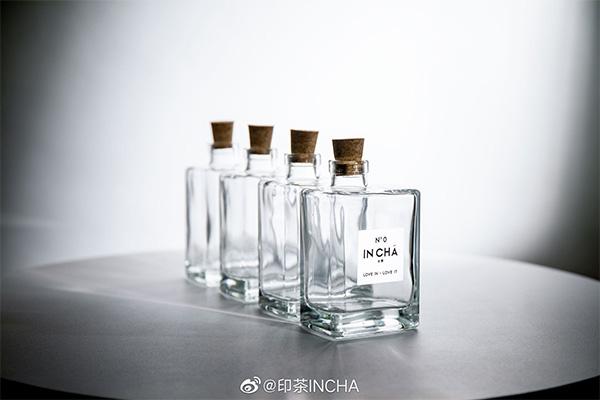 印茶金露香水瓶