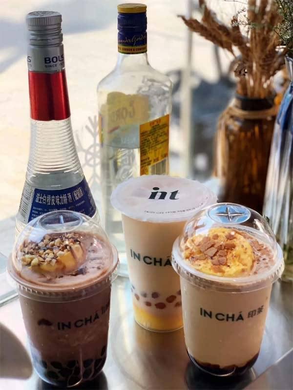 INCHA印茶黑糖系列