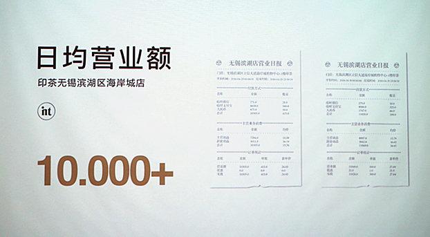 印茶营业额收益